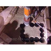 Сверление отверстий в кирпичных и бетонных стенах без пыли фото