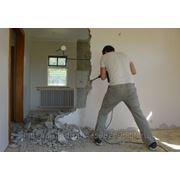 Демонтаж стен, перегородок, перекрытий фото