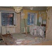 Демонтаж стен,Перегородок,Выпилим проемы в несущих стенах. фото