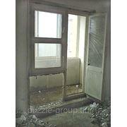 Демонтаж подоконной части из бетона фото