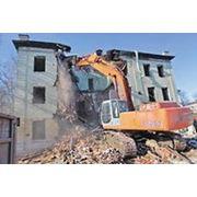 Демонтаж сооружений в Нижнем Новгороде фото