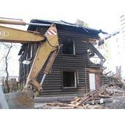 Стоимость сноса частных деревянных и кирпичных домов фото
