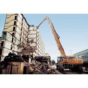 Демонтаж и реконструкция зданий
