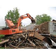 Демонтаж строений и сооружений фото