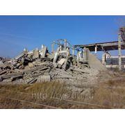 Снос зданий, сооружений фото