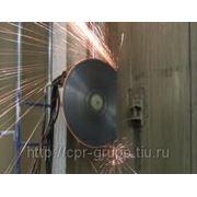 Алмазная резка диском фото
