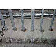Сверление отверстий в бетоне фото