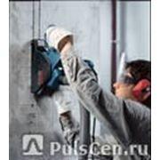 Резка алмазная штроборезом с применением пылесоса по потолку до 25х25мм бет фото