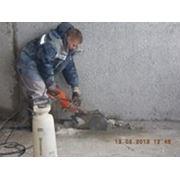 Резка бетона фото