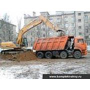 Разработка котлована Пушкино фото