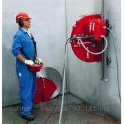 Алмазная дисковая резка бетона фото