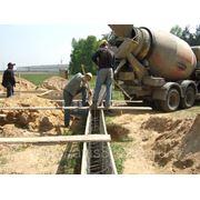 Фундамент ленточный 200х600 мм (ширинахвысота) фото