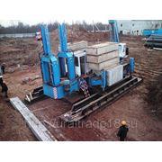 Погружение свай методом силового вдавливания с применением СВУ Titan DTZ 360 в Ижевске. фото