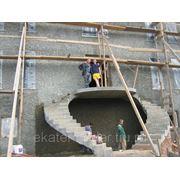 Устройство бетонных монолитных лестниц фото