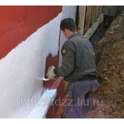 Гидроизоляция кирпичной кладки и бетона. фото