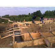 Строительство фундаментов фото