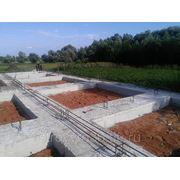 Фундамент (подошва, ростверк) фото