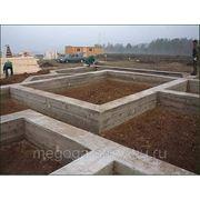 Строительство фундаментов любой сложности. фото
