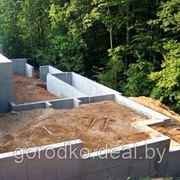 Монтаж фундамента в Гродно фото