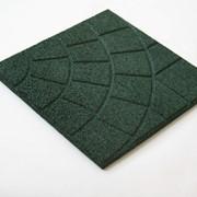 Плитка из резиновой крошки Реутан-И, 350х350х16 фото