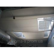 Подвесной потолок из ПВХ для сохранения тепла в цеху