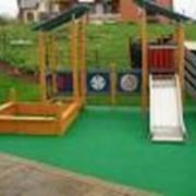 Покрытия резиновые для детских площадок фото