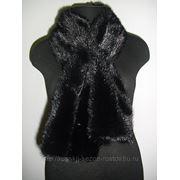 Норковый шарф фото