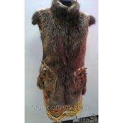 Пошив и реставрация меховых жилеток фото
