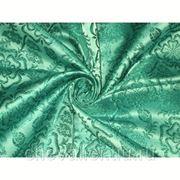 Шелк зеленый фото