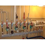 Монтаж систем отопления. фото