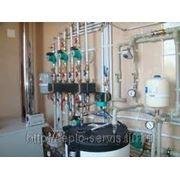 Монтаж систем отопления, водоснабжения и котельного оборудования. фото