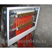 Лучевая система отопления фото