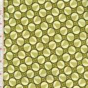 Кружки на зеленом фоне фото
