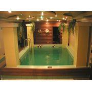 Бассейны в банях и саунах фото