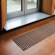 Установка радиаторов встраиваемых в пол (конвекторы) фото