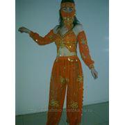 Костюм для танца живота с рукавами, и с маской № 2