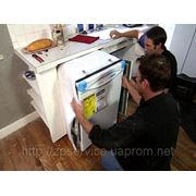 Установка, подключение посудомоечной машины в Запорожье фото