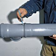 Монтаж пластиковых труб канализации в Омске фото
