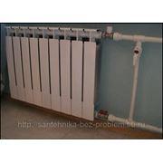 Замена радиатора отопления фото