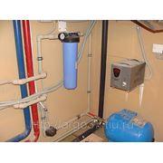 Монтаж системы водоснабжения частного дома. фото
