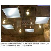 Потолки зеркало фото