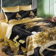 Комплекты постельного белья из шелка (атласа) набивного фото