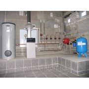 Сантехнические работы, отопление, водоснабжение фото