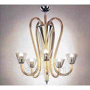 Монтаж люстр и подвесов с количеством ламп до: 5 фото