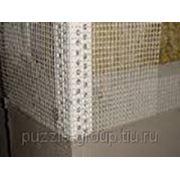 Устройство армировочной сетки 2х2 в тело шпатлевки на откосы шириной до 40 см фото