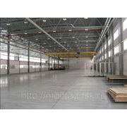 Монтаж электроосвещения складских помещения