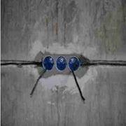 Прокладка кабеля в штробе фото