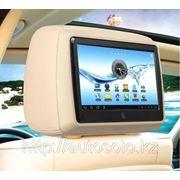 Подголовник со встроенным монитором-планшетом для автомашин фото