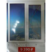 Пластиковые окна: кухня фото