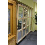 Раздвижные-откидные окна пвх фото